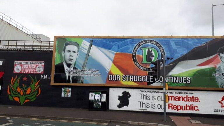 Northern Ireland - Belfast- Belfast Murals
