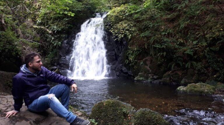 Northern Ireland - Gleno Waterfall