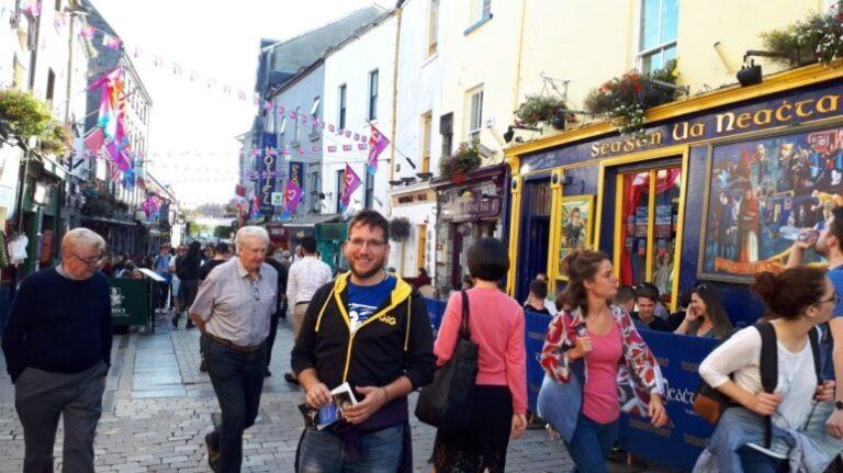 Ireland - Galway - The Latin Quarter