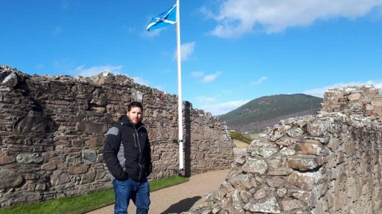 Scotland and Scottish Highlands - Urquart Castle