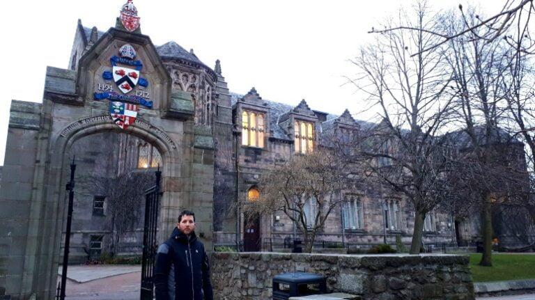 Scotland and Scottish Highlands - Aberdeen - King's College