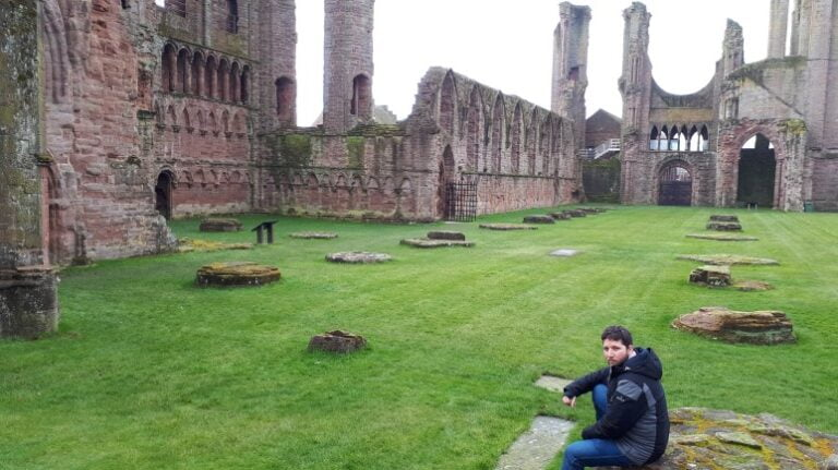 Scotland and Scottish Highlands - Arbroath Abbey