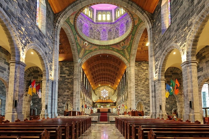 Ireland - Galway - Galway Cathedral by Robert Linsdell