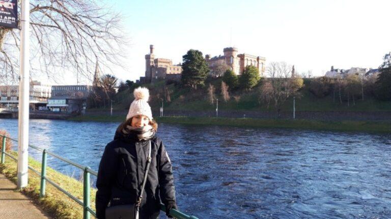 Scotland and Scottish Highlands - Inverness - Inverness Castle