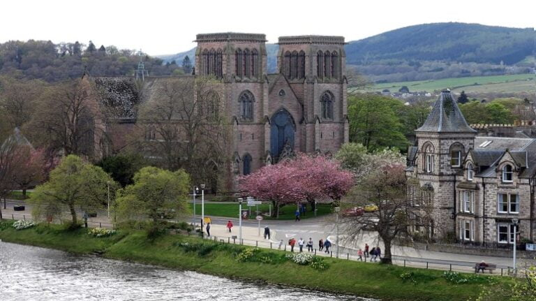 Scotland and Scottish Highlands - Inverness - Inverness Cathedral by Enric