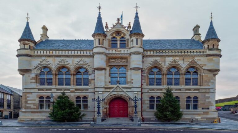Scotland and Scottish Highlands - Inverness - Inverness Town House by valenta
