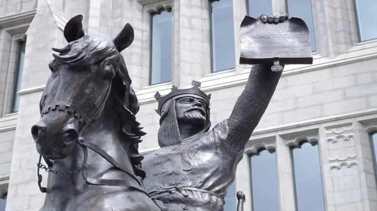 Scotland and Scottish Highlands - Aberdeen - Robert the Bruce Statue by L E X commons