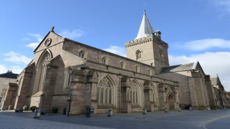 Scotland and Scottish Highlands: a 4-day road trip itinerary - Perth - St John's Kirk by kim traynor