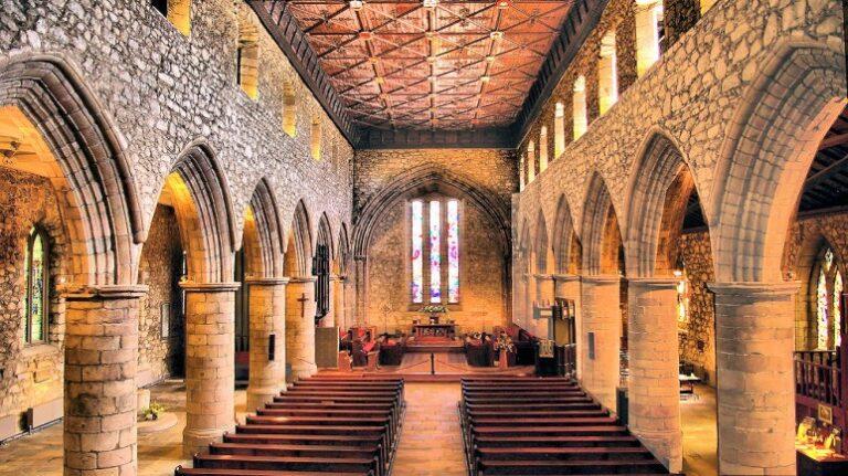 Scotland and Scottish Highlands - Aberdeen - St Machar's Cathedral by Gordon Robertson