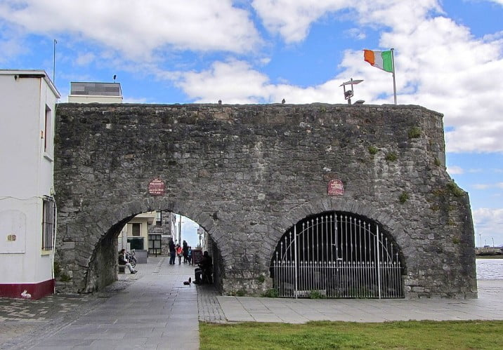 An unforgettable 5-day itinerary through Ireland and Northern Ireland - Galway - The Spanish Arch by Bob Linsdell