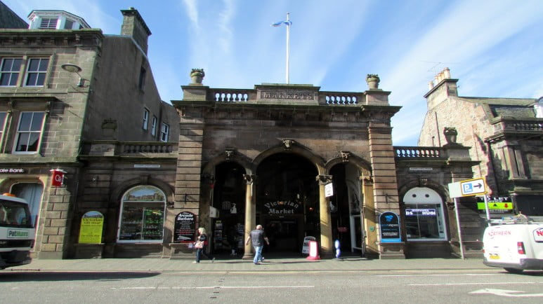 Scotland and Scottish Highlands: a 4-day road trip itinerary - Inverness - The Victorian Market by Reading Tom