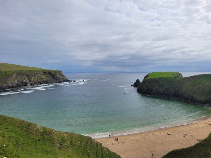 Two unforgettable days in county Donegal, Ireland - Silver Strand