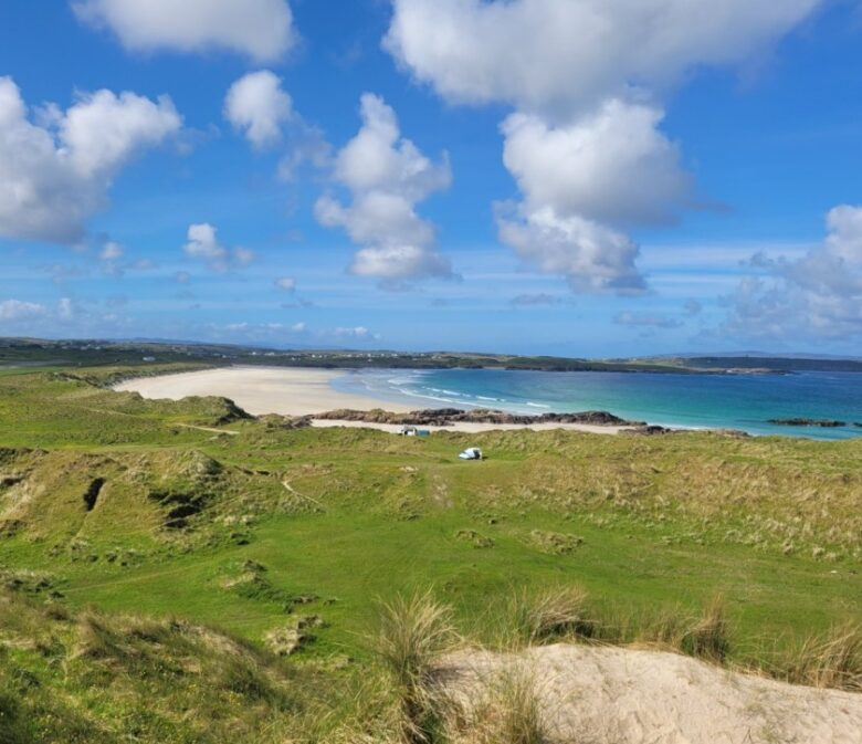 Two unforegttable days in county Donegal, Ireland - Carrickfinn Beach