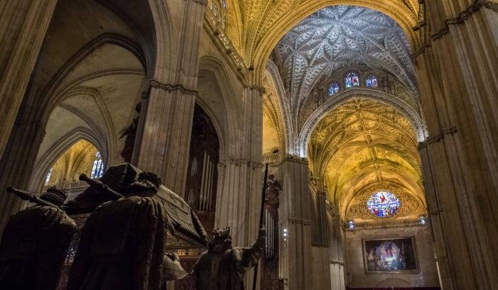 Seville - Seville Cathedral - Christopher Columbus' Sarcophagus
