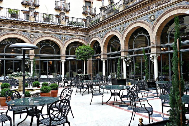 Seville - Alfonso XIII Hotel by Herry Lawford