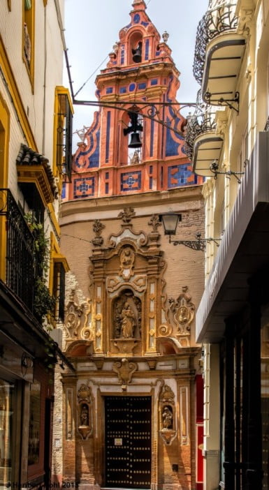 50 things to visit in Seville, Spaini - Chapel of Saint Joseph by Polybert49