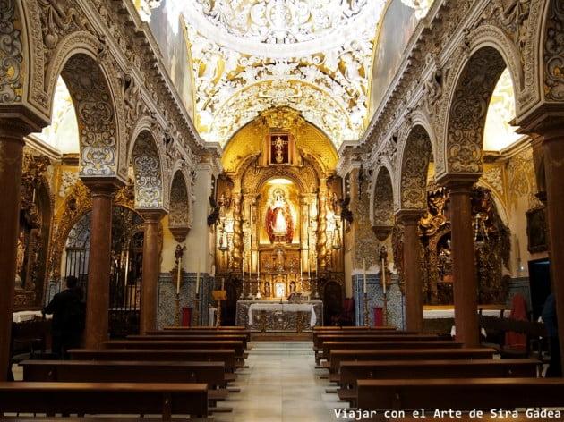 50 things to visit in Seville, Spain - Church of Santa Maria La Blanca by viajarconelarte.blogspot.com