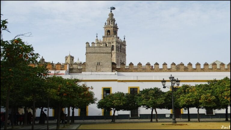 Seville- Courtyard of the Flags by Jose A.