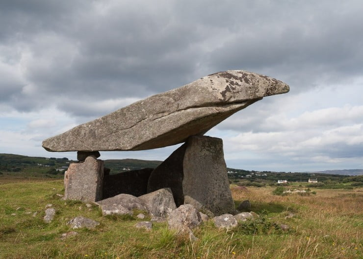 Two unforgettable days in county Donegal, Ireland - Kilclooney Dolmen by Andreas F. Borchert