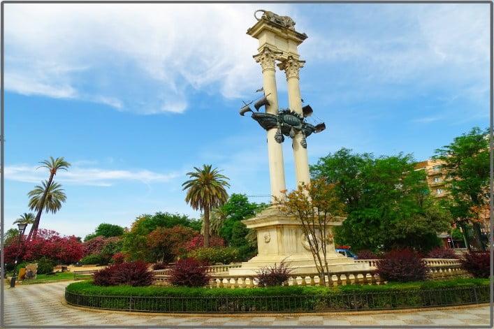 Seville - Murillo's Gardens by Jose A.