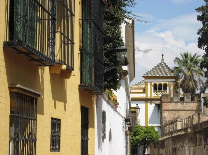 Seville - Neighbourhood of the Holy Cross by Heinz Joerg Kretschmer