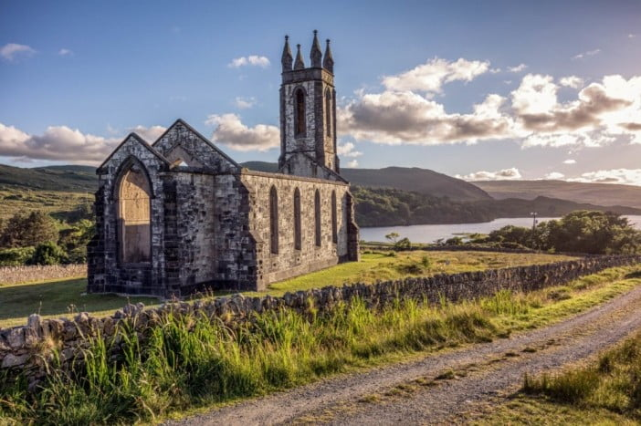 Two unforgettable days in county Donegal, Ireland - The Old Church of Dunlewey by Matt Dean