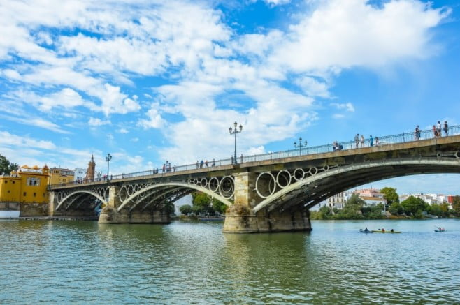 50 things to visit in Seville, Spain - Triana Bridge