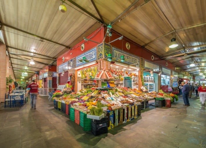 50 things to visit in Seville, Spain - Triana Market by Sevilla ciudad