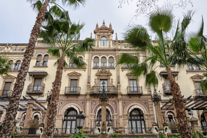 50 things to visit in Seville, Spain - Alfonso XIII Hotel