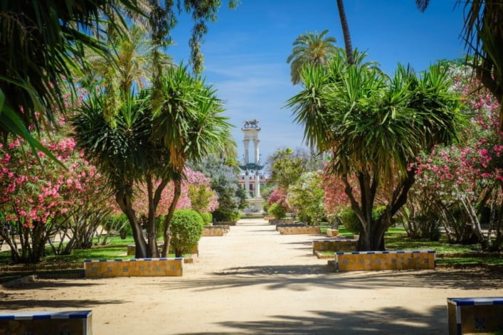 50 things to visit in Seville, Spain - Murillo's Gardens
