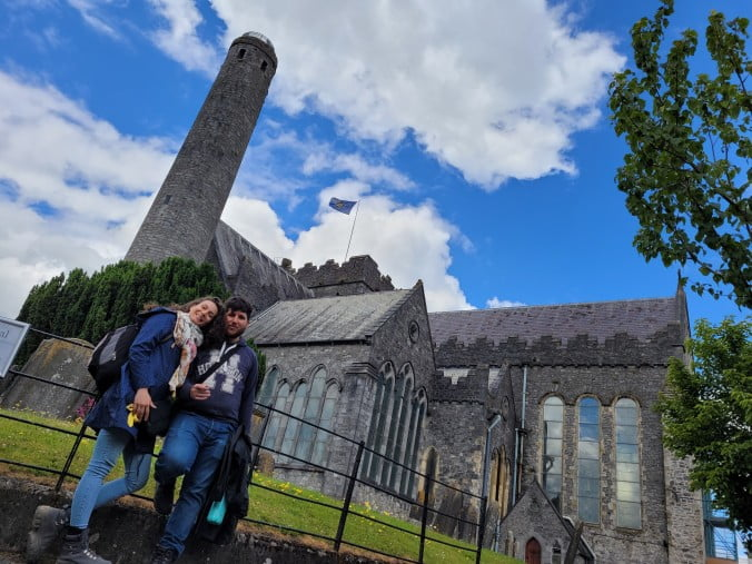 Kilkenny Town - Cathedral Church of St Canice & Round Tower