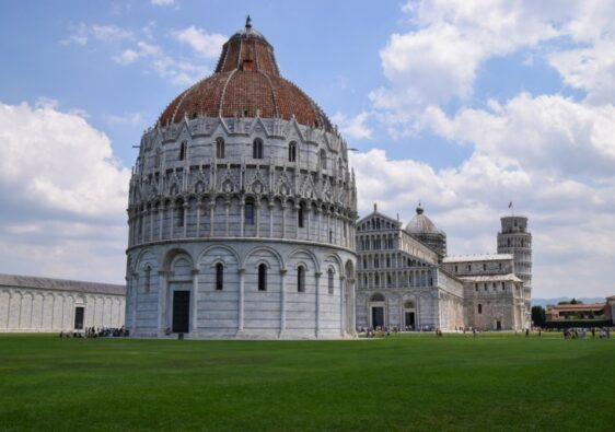 Pisa - Square of Miracles - Baptistery of St. John the Baptist