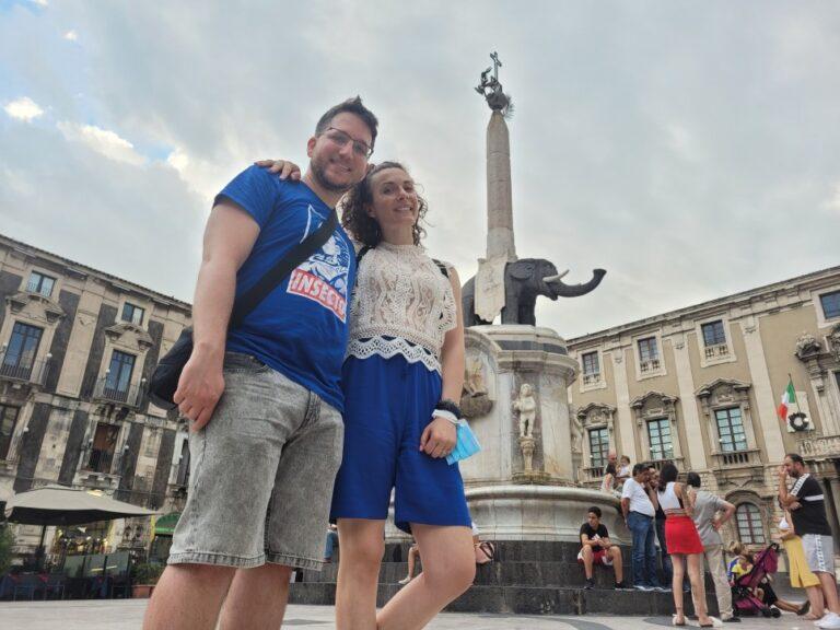 Catania - Piazza del Duomo - Elephant Fountain