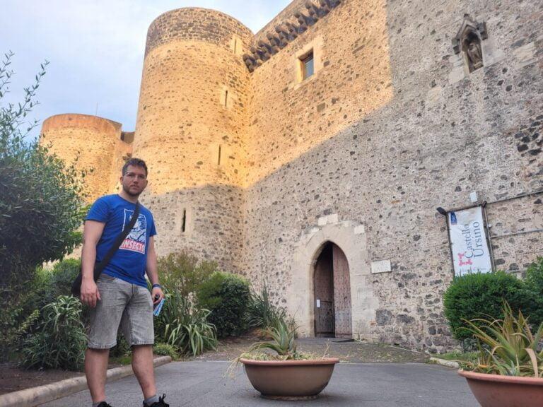 An unforgettable 2-week road trip through Sicily - Catania - Ursino Castle