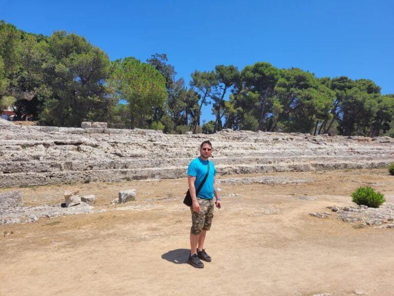 Syracuse - Archaeological Park of the Neapolis - Altar of Hiero II