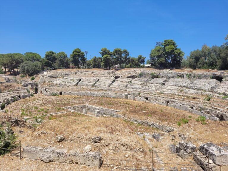 Syracuse - Archaeological Park of the Neapolis - Roman Amphitheatre