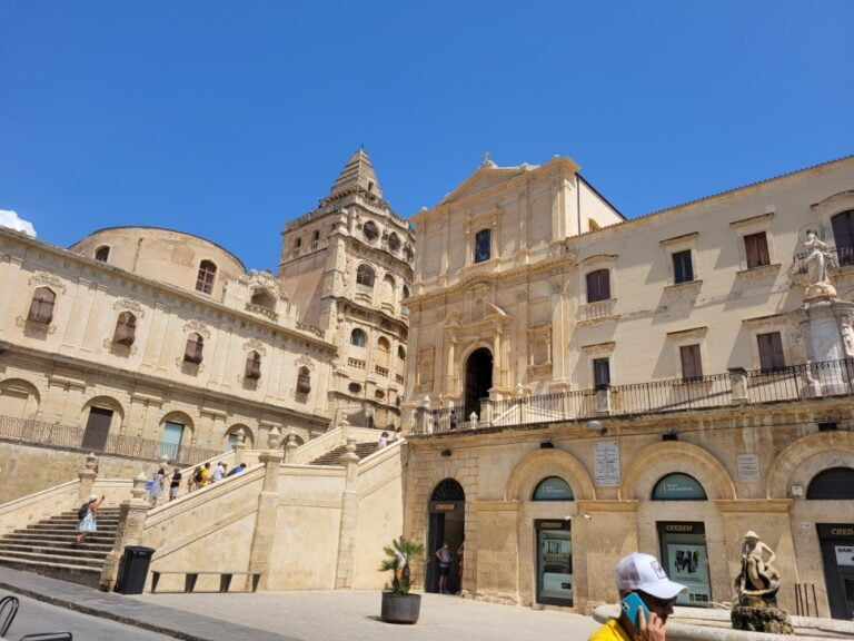 An unforgettable 2-week road trip through Sicily - Noto - Church of Saint Francis Immaculate and Franciscan Monastery of the St. Savior