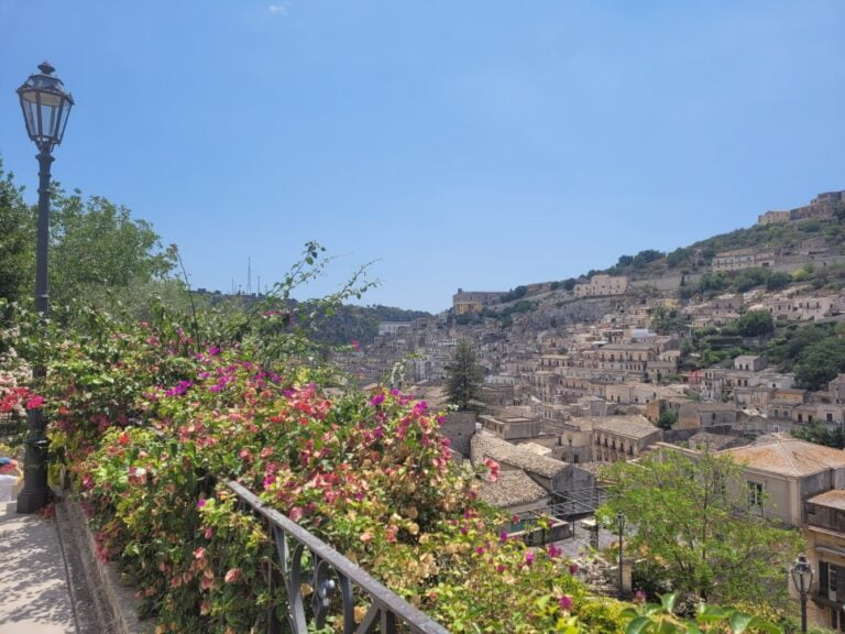 Modica Alta - View from the Cathedral of Saint George