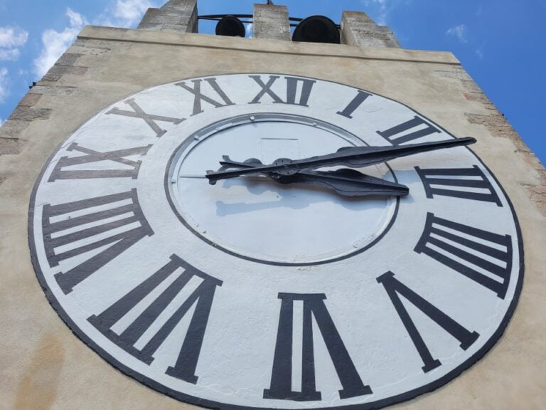 Modica - Castle of the Counts - Clock Tower