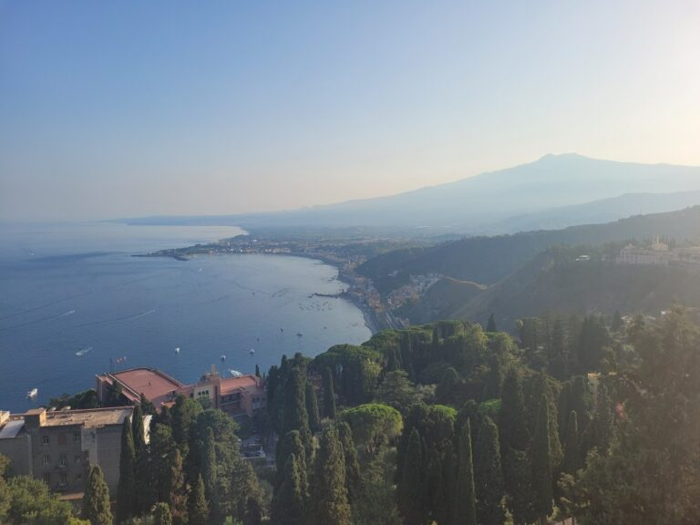 Taormina - View from the Greek Theatre