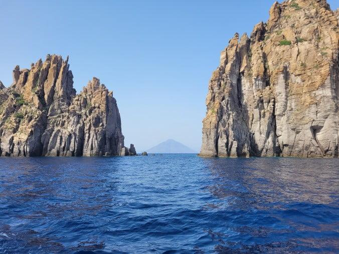 View of Vulcano and Basiluzzo