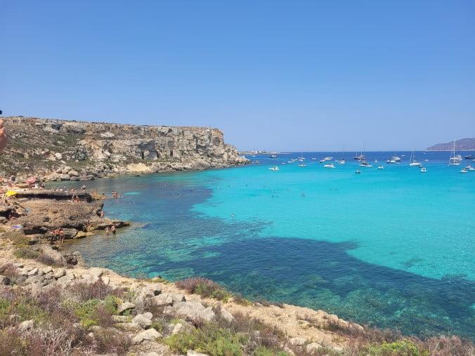 An unforgettable 2-week road trip through Sicily (part 2) - Favignana - Cala Rossa