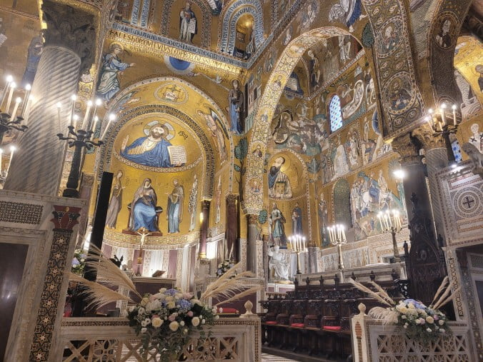 An unforgettable 2-week road trip through Sicily (part 2) - Palermo - Norman Palace - Palatine Chapel