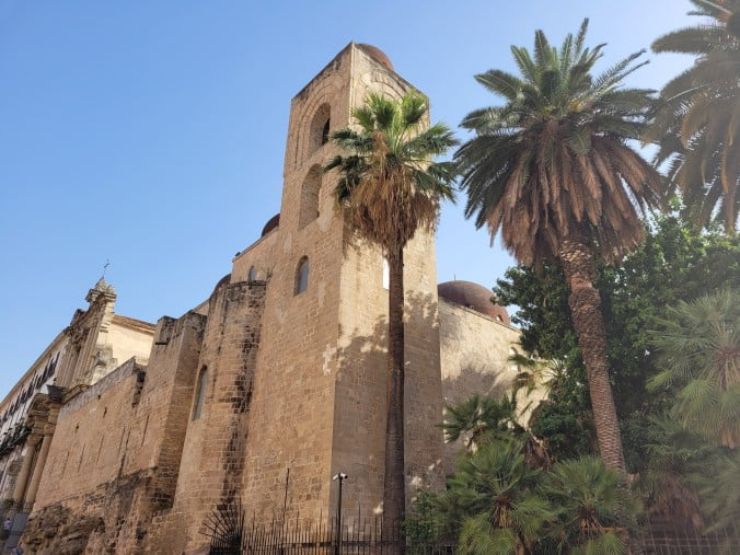 An unforgettable 2-week road trip through Sicily (part 2) - Palermo - Church of St. John of the Hermits