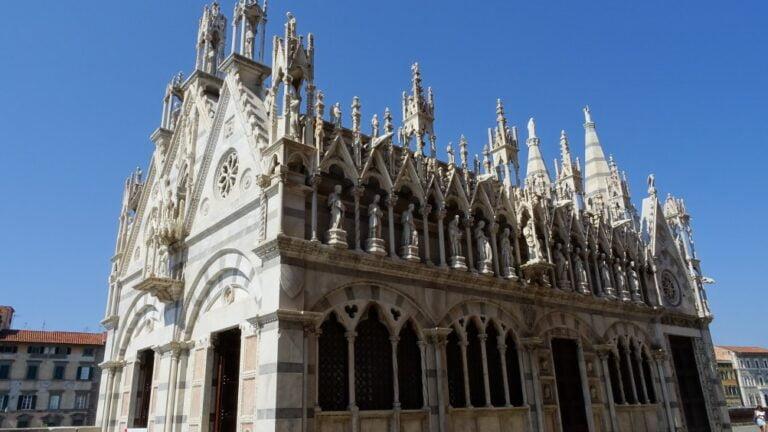 Pisa - Church of St Mary of the Thorn by Maurizio Abbiateci