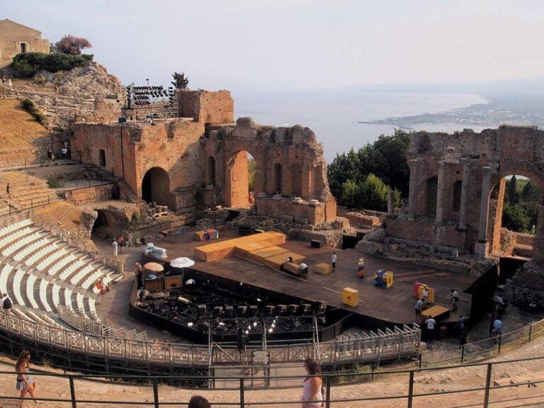 Taormina - Greek Theatre by Maroichi