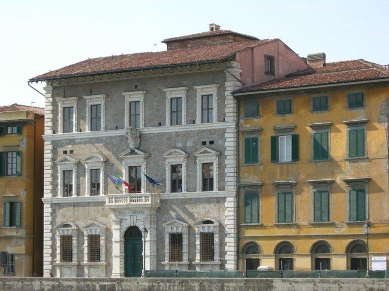 A 2-day walking itinerary of Pisa, Italy - Palazzo alla Giornata by sailko