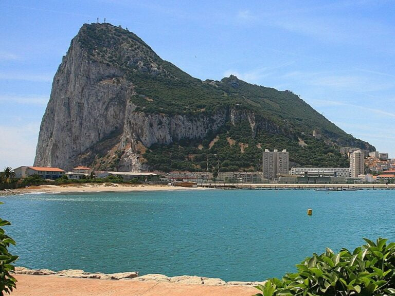 One surprising day in Gibraltar - The Rock of Gibraltar by Bengt Nyman