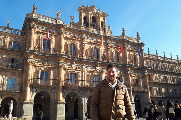 A delightful Spanish Road Trip through the Castiles - Salamanca - Plaza Mayor