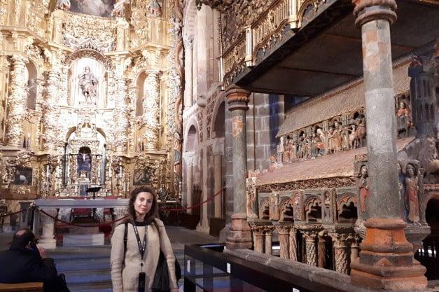 Ávila -Basilica of Saint Vicente